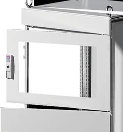 Porte d'armoire avec fenêtre de contrôle Rittal 9672.169 Tôle d'acier gris (l x h) 600 mm x 800 mm