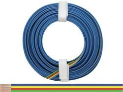 Fil de câblage BELI-BECO L418/5 4 x 0.14 mm² vert, rouge, jaune, bleu 5 m