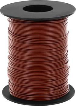 Fil de câblage BELI-BECO L118/100 bn 1 x 0.14 mm² marron 100 m