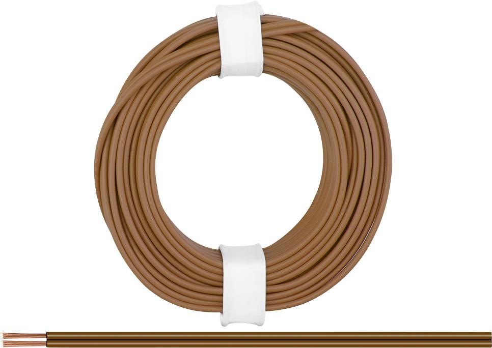 Fil de c/âblage BELI-BECO L2218//50 2 x 0.14 mm/² Rouge-Noir 50 m