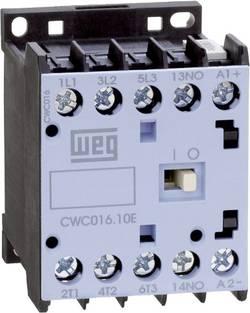 Contacteur WEG CWC012-01-30C03 3 NO (T) 5.5 kW 24 V/DC 12 A avec contact auxiliaire 1 pc(s)