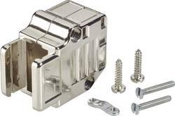 Capot SUB-D 25 pôles FCI 863093C25MLF plastique, métallisé 90 ° argent 1 pc(s)