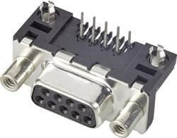 SUB-D femelle 9 pôles FCI D09S13A4GX00LF 90 ° pour circuits imprimés 1 pc(s)