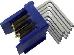 Barrette mâle (standard) série DUBOX Barrette mâle coudée 8 pôles FCI 76383-304LF Pas: 2.54 mm 1 pc(s)