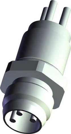 Embase M12 TE Connectivity 3-2271135-2 embase mâle Nbr de pôles: 4 1 pc(s)