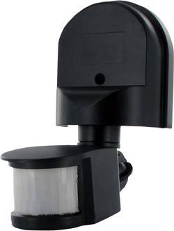 Détecteur de mouvements Smartwares SW ES90 pour l'intérieur, pour l'extérieur mural 180 ° relais noir IP44