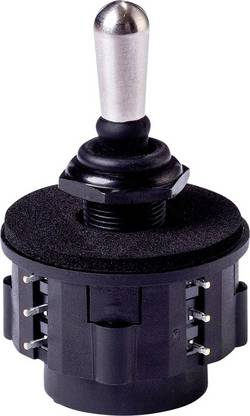 Joystick APEM NZBB2135 125 V/AC levier droit plot à souder IP67 1 pc(s)