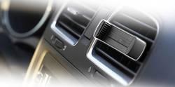 Support de téléphone portable pour voiture Cellularline 37075 grille de ventilation