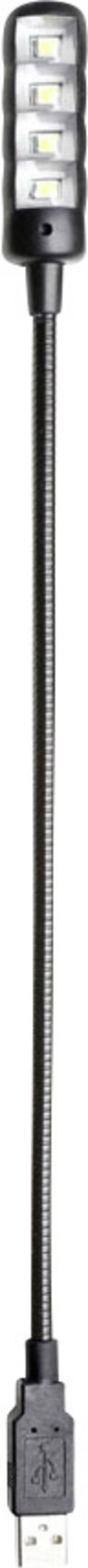 Lampe à col de cygne Adam Hall SLED 1 Ultra USB 1 pc(s)