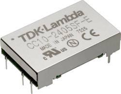 Convertisseur CC/CC pour circuits imprimés TDK-Lambda CC-10-1205SF-E Nbr. de sorties: 1 x 12 V/DC 5 V/DC 2 A 10 W 1 pc(s