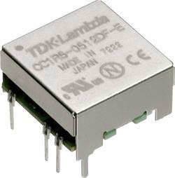 Convertisseur CC/CC pour circuits imprimés TDK-Lambda CC-1R5-2412SF-E Nbr. de sorties: 1 x 24 V/DC 12 V/DC, 15 V/DC 0.12