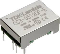 Convertisseur CC/CC pour circuits imprimés TDK-Lambda CC-3-0505SF-E Nbr. de sorties: 1 x 5 V/DC 5 V/DC 0.6 A 3 W 1 pc(s)