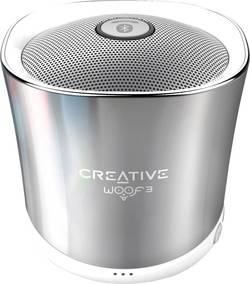 Enceinte Bluetooth Creative Woof 3 fonction mains libres, SD argent