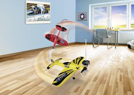 avion rc d butant fesselflieger in gelb und schwarz pr t voler rtf flyline d15. Black Bedroom Furniture Sets. Home Design Ideas