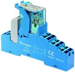 Élément porte à LED Finder 4C.P2.9.012.0050 Tension nominale: 12 V/DC Courant de commutation (max.): 8 A 2 inverseurs (R