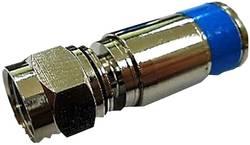 Connecteur F mâle à compression pour Ø câble: 7.1 mm Interkabel F 56 DIX 6 câble, extrémités ouvertes 1 pc(s)
