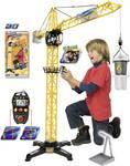 Dickie Toys Giant Crane - Grue gigantesque avec télécommande filaire