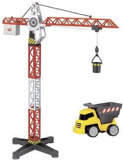 Dickie Toys Building Team - Grue avec véhicule de chantier