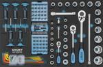 Assortiment d'outils