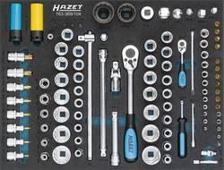 """Coffret clé + douilles 105 pièces Hazet 163-369/104 métrique 3/4"""" (20 mm), 1/4"""" (6.3 mm), 1/2"""" (12.5 mm)"""