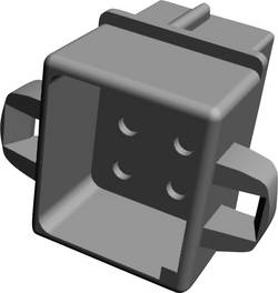 Boîtier pour contacts femelles série MATE-N-LOK femelle, droit 6 pôles TE Connectivity 1-480276-0 Pas: 5.08 mm 1 pc(s)