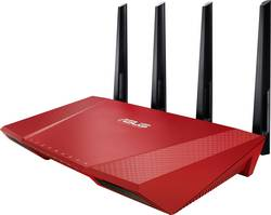 Routeur WiFi Asus RT-AC87U RED 2.4 Gbit/s 5 GHz, 2.4 GHz