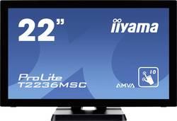 Iiyama T2236MSC-B2 Moniteur tactile 54.6 cm (21.5 pouces) 1920 x 1080 pixels16:98 msUSB 3.0, VGA, DVI, HDMI™AMVA LED