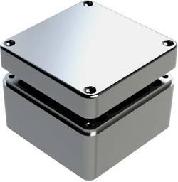 Boîtier universel Deltron Enclosures 487-121208A aluminium gris 125 x 125 x 80 1 pc(s)