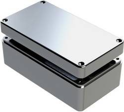 Boîtier universel Deltron Enclosures 487-221208A aluminium gris 220 x 120 x 80 1 pc(s)