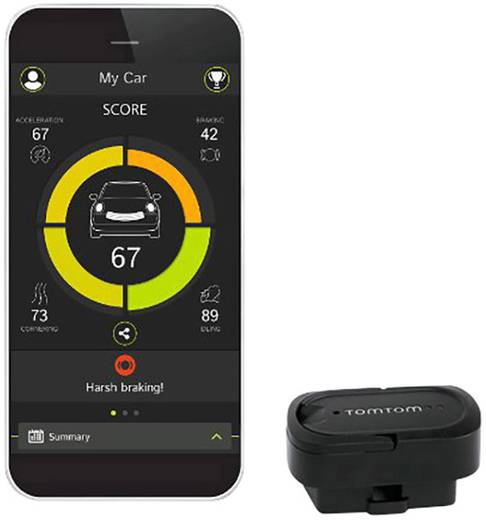 bo tier d 39 analyse de la conduite avec dongle obd tomtom. Black Bedroom Furniture Sets. Home Design Ideas
