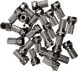 Lot de connecteurs F mâles pour Ø câble: 7.50 mm BKL Electronic 0403458 à tourner 25 pc(s)