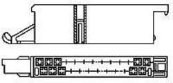Boîtier pour contacts mâles série J-P-T mâle, droit 25 pôles TE Connectivity 925470-2 Pas: 5 mm 1 pc(s)