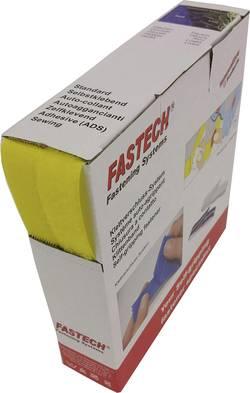 Bande auto-agrippante à coudre Fastech B20-STD020810 partie velours et partie crochets (L x l) 10 m x 20 mm jaune 10 m