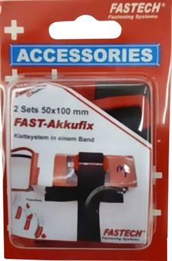 Bande auto-agrippante à coller, avec boucle Fastech 702-330-Mod1 partie velours et partie crochets (L x l) 100 mm x 50 m