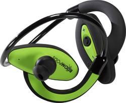 Ecouteurs sport Bluetooth intra-auriculaires Boompods Sportpods micro-casque, résistant à la sueur, hydrophobe vert