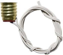 Support d'ampoule Culot: E10 BELI-BECO L40/124 Connexions: à fils 1 pc(s)