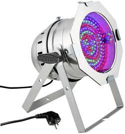 Projecteur PAR LED Cameo PAR 64 CAN RGB 10 PS Nombre de LED: 183 x argent