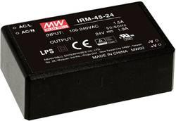 Alimentation CA/CC pour circuits imprimés Mean Well IRM-45-48 45.12 W