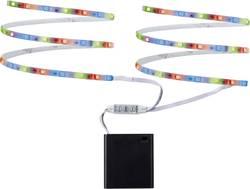 Ruban LED (Set complet) avec compartiment pour batterie Paulmann 70700 6 V 80 cm RVB 1 pc(s)