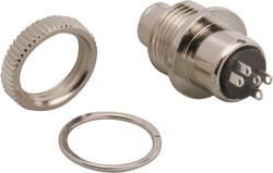 Jack 3.5 mm embase femelle, verticale BKL Electronic 1109025 Nombre total de pôles: 3 stéréo argent 1 pc(s)