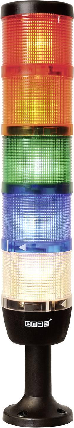 Colonne lumineuse LED 5 éléments EMAS IK75F024XM01 rouge, jaune, vert, bleu, blanc 24 V DC/AC 1 pc(s)