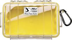 Boîte outdoor PELI 050 1050-027-100E 1 l jaune, transparent