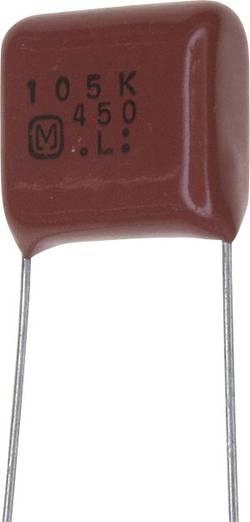 Condensateur polypropylène sortie radiale 1 µF 450 V/DC 10 % Panasonic ECQ-E2W105KH (L x l) 18.2 mm x 8.5 mm 15 mm 1 pc