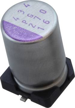 Condensateur électrolytique CMS 47 µF 16 V Panasonic 16SVPG47M (Ø) 5 mm 20 % 1 pc(s)