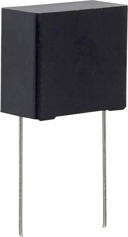 Condensateur polypropylène sortie radiale 1 µF 275 V/AC 20 % Panasonic ECQ-U2A105ML (L x l) 25.5 mm x 12 mm 22.5 mm 1 p