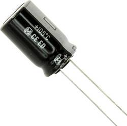 Condensateur électrolytique sortie radiale 15 µF 400 V Panasonic EEU-ED2G150 (Ø x L) 12.5 mm x 7.3 mm 20 % Pas: 5 mm 1