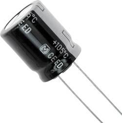 Condensateur électrolytique sortie radiale 100 µF 250 V Panasonic EEU-ED2E101 (Ø x L) 16 mm x 7.3 mm 20 % Pas: 7.5 mm 1