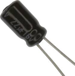 Condensateur électrolytique sortie radiale 22 µF 16 V Panasonic ECE-A1CKA220 (Ø) 4 mm 20 % Pas: 1.5 mm 1 pc(s)