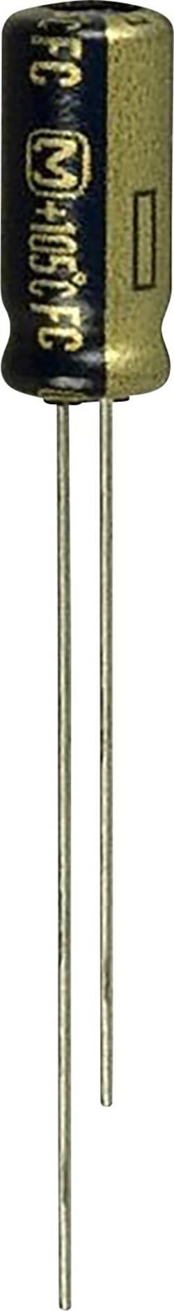 Condensateur électrolytique +105 °C 2.2 µF 100 V Panasonic EEU-FC2A2R2 sortie radiale 2 mm (Ø) 5 mm 1 pc(s)