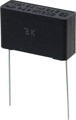 Condensateur polypropylène sortie radiale 0.47 µF 275 V/AC 10 % Panasonic ECQ-UAAF474K (L x l) 26 mm x 8.5 mm 22.5 mm 1